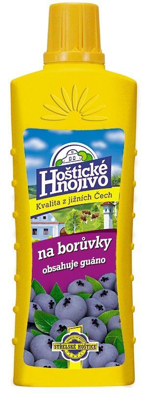 Hoštické hnojivo - borůvky - 500 ml