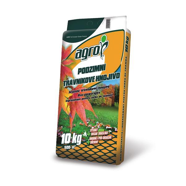 Podzimní trávníkové hnojivo - 10 kg - Agro
