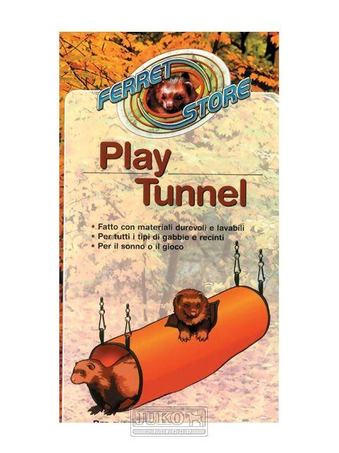 Hrací závěsný tunel pro fretky