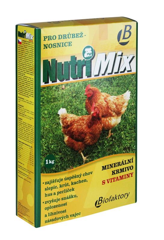 Nutri Mix - drůbež - nosnice - 1 kg