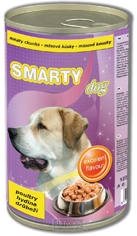 Smarty chunks DOG POULTRY - drůbeží - 1250 g