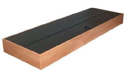 Akvarijní kryt MONACHIUM BASIC 80 x 35 cm - buk