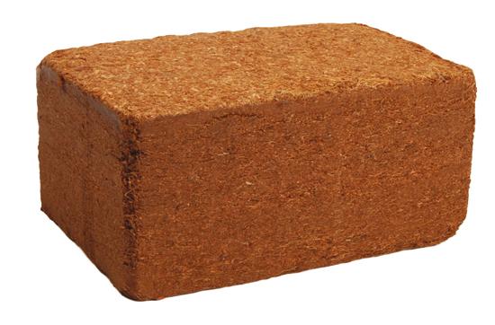 Kokosový substrát TERACOCO - briketa - 1,1 kg