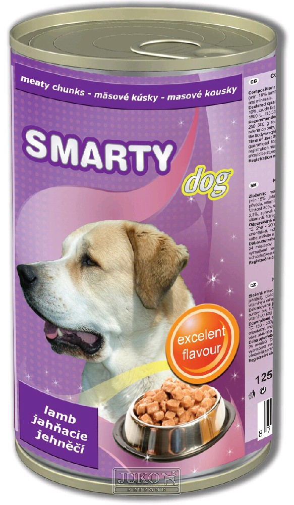 Smarty chunks DOG LAMB - jehněčí - 1250 g