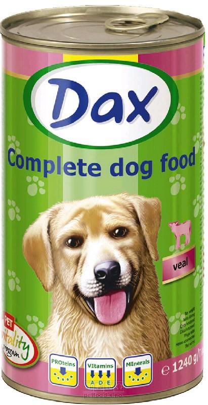 DAX chunks - telecí - 1240 g (pro psy)
